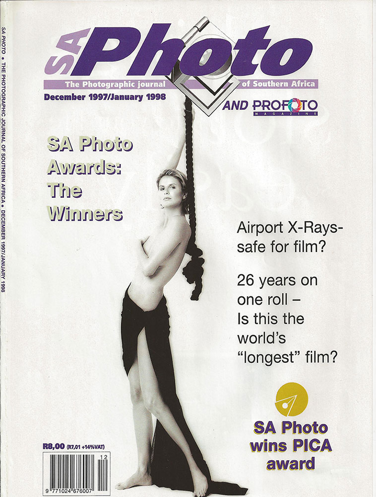 Print Modeling: Michelle McLean in SA Photo Photographic Journal