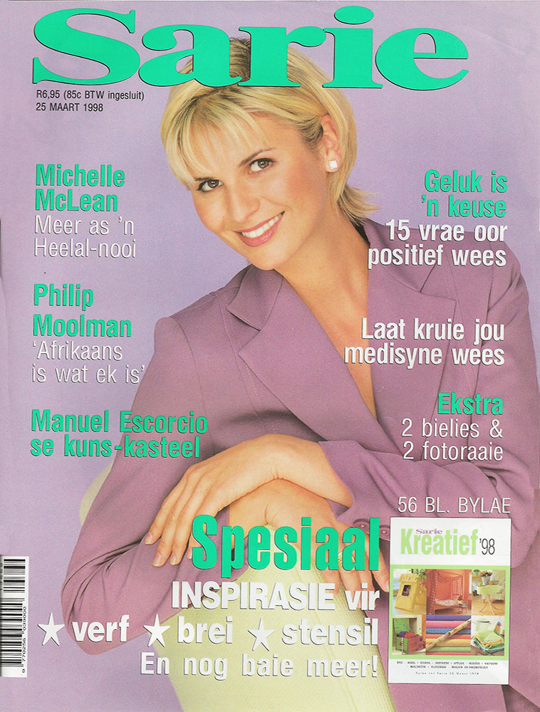 Michelle McLean Sarie Cover